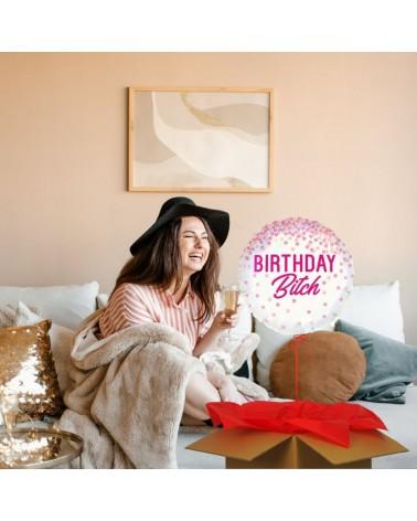 ballon cadeau birthday bitch