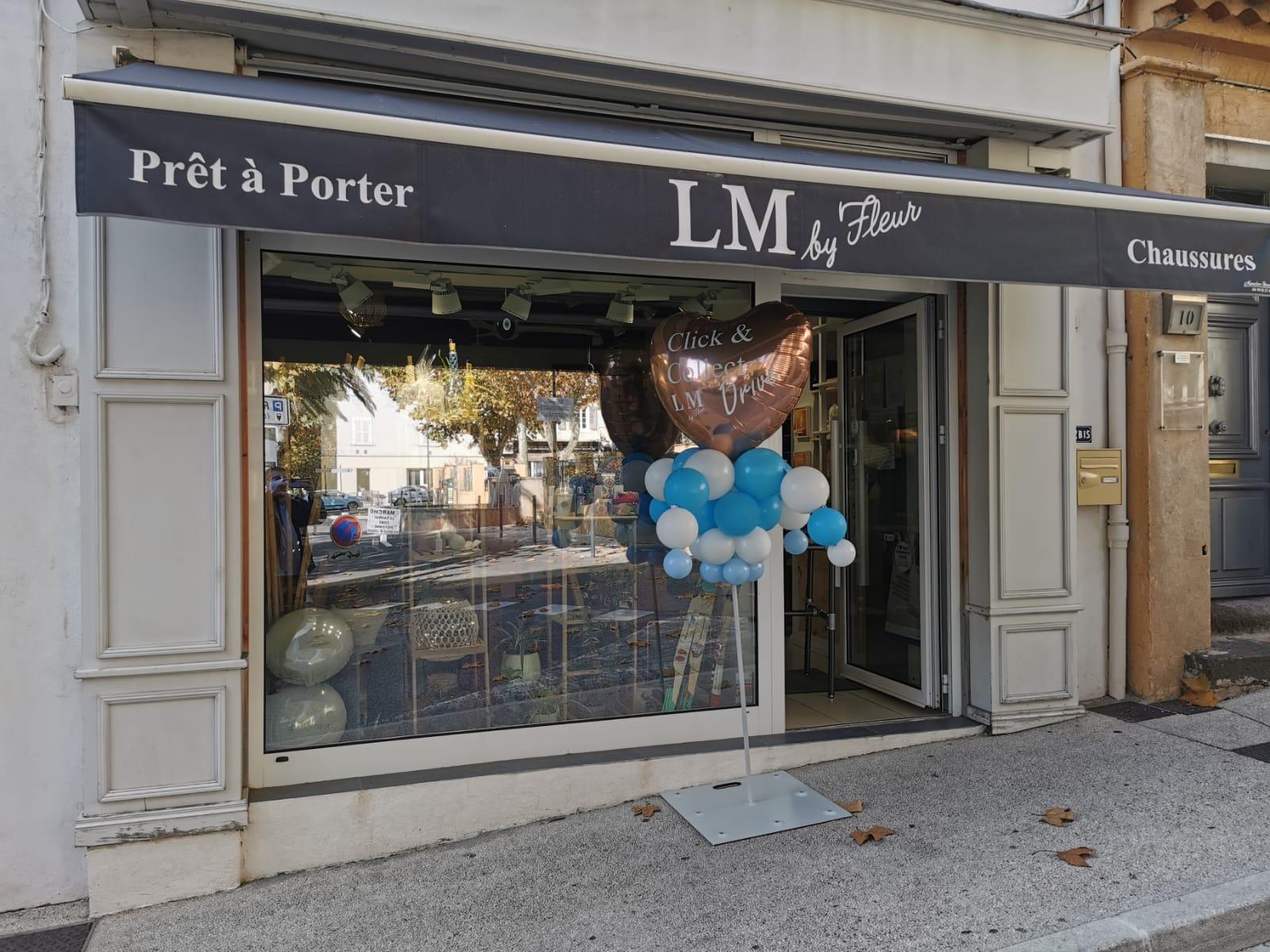 La boutique LM by Fleur centre ville de Cogolin