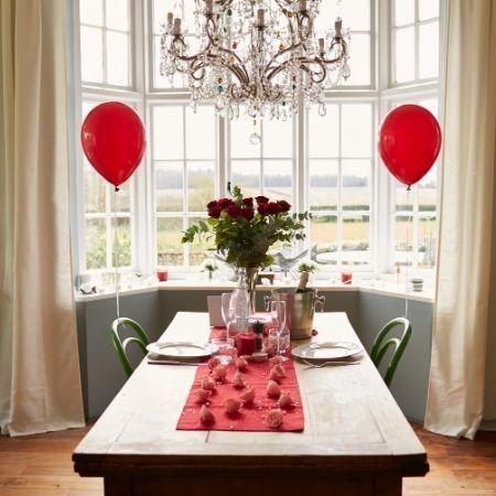 repas en amoureux saint valentin