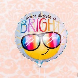 ballon anniversaire gonflé à l'hélium