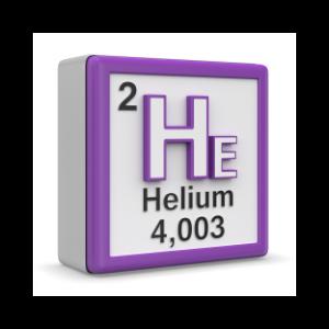 l'hélium pour gonfler les ballons